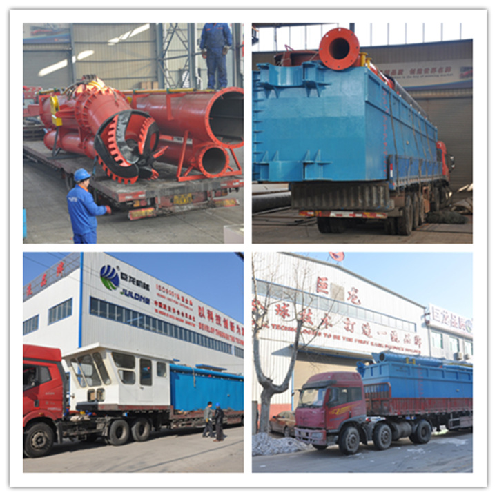 Land Reclamation Used 3500m3/H Cutter Suction Dredger