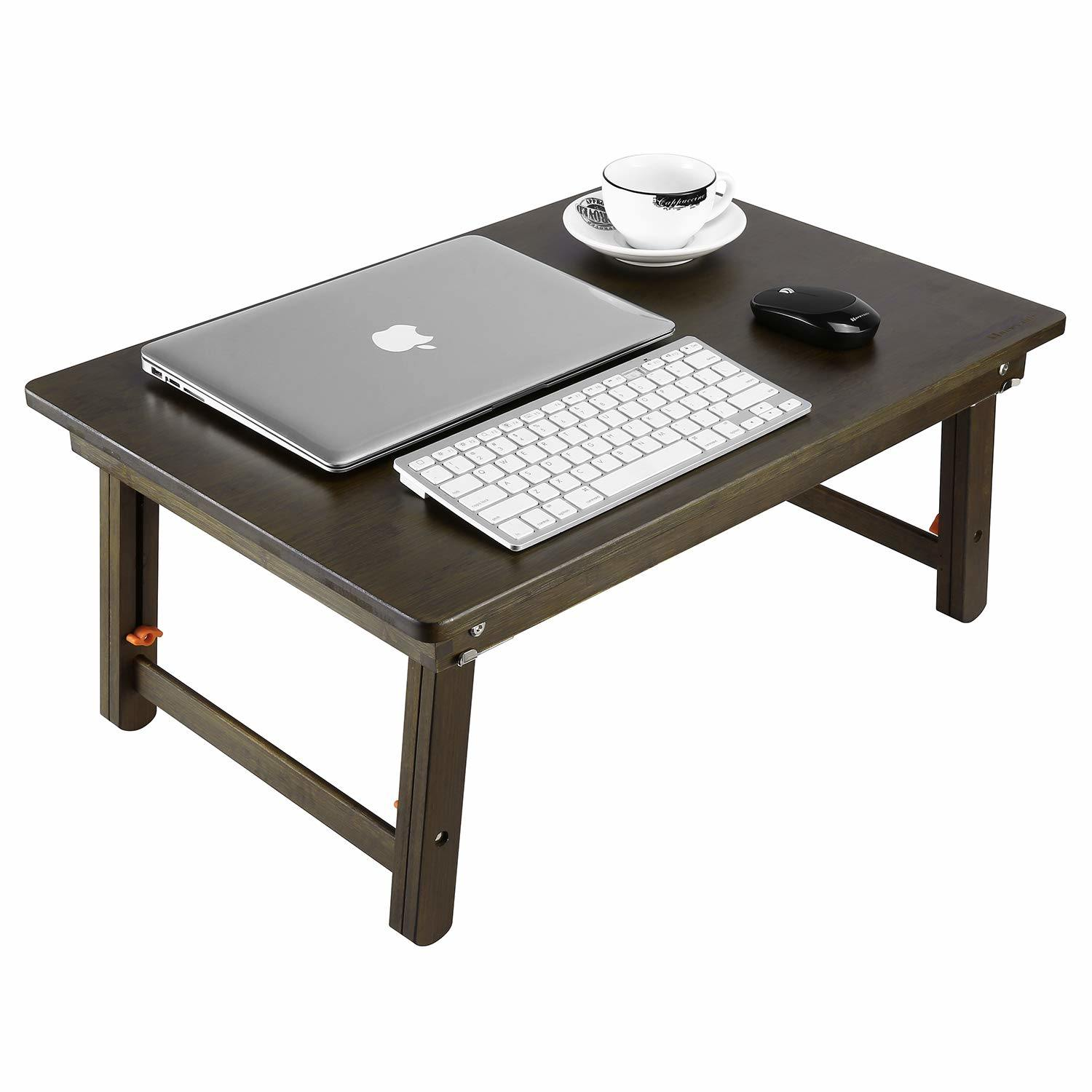 Picture of: Large Size Laptop Tray Desk Foldable Lap Table Bed Tray Bamboo Adjustable Breakfast Serving Tray Dark Brown China Laptop Tray Desk Foldable Lap Table Bed Tray Made In China Com