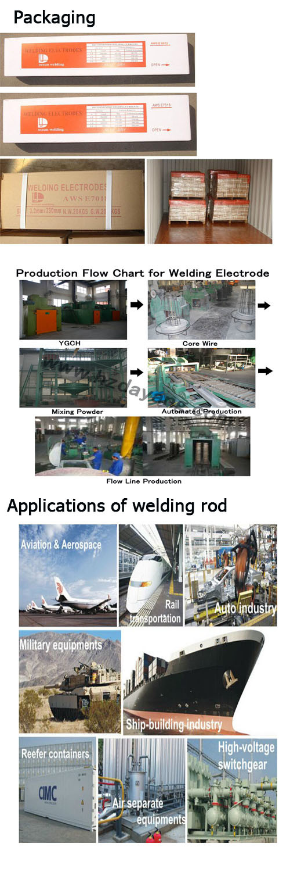 Graphite / Steel Welding Electrode (E6013)