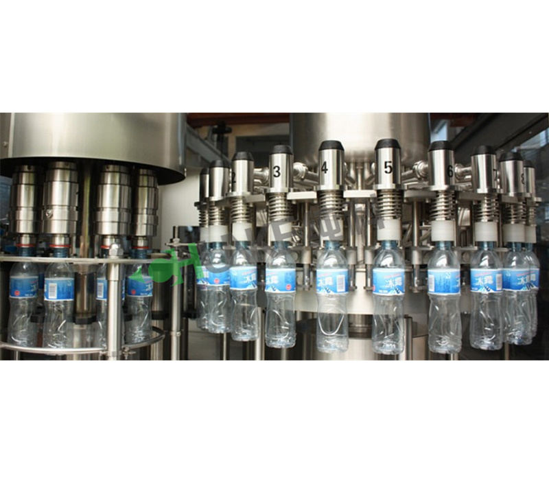 Plastic Mineral Water Bottle Making Machine with Blowing Unit