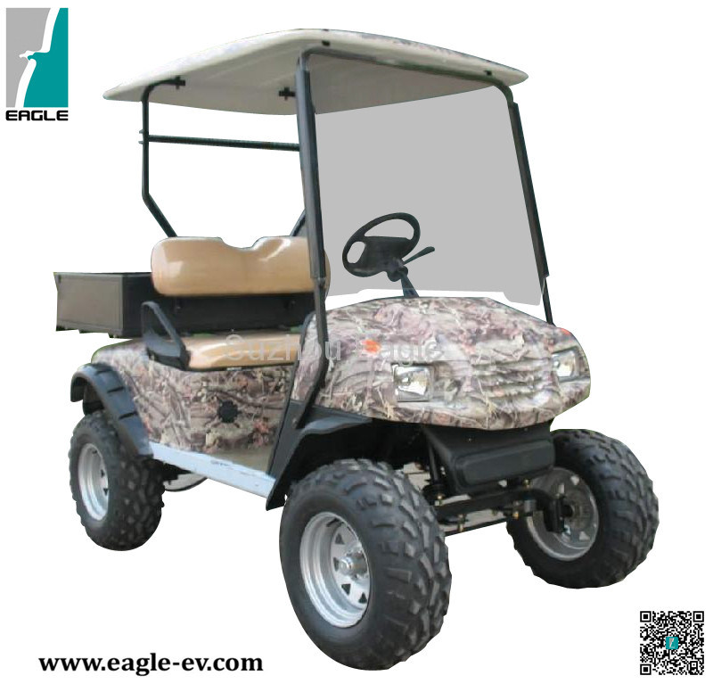 La caza de Buggy eléctrico, el certificado CE de la utilidad, con la ...