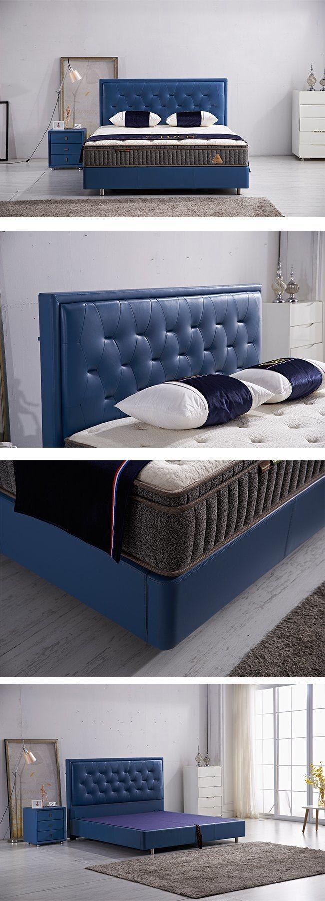 Cama King Size mejor calidad de colchón el bastidor para Muebles de ...