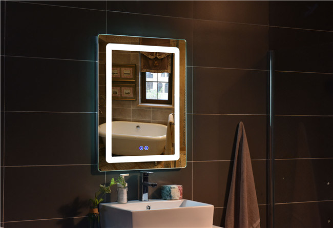 Modern Home Hotel Lighted Vanity LED Smart Bathroom Mirror - China ...