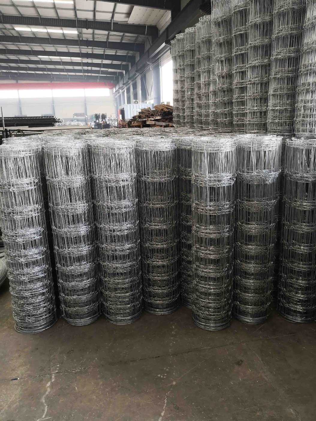 Fixed Knot Woven Wire Farm Fencing/Field Fence - China Knot Fence ...