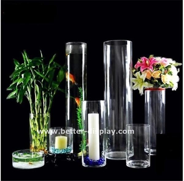 la coutume en acrylique transparent vase tube la coutume en acrylique transparent vase tube. Black Bedroom Furniture Sets. Home Design Ideas