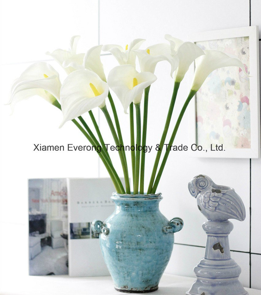 Artificial white and purple calla lily artificial flower real touch company info izmirmasajfo