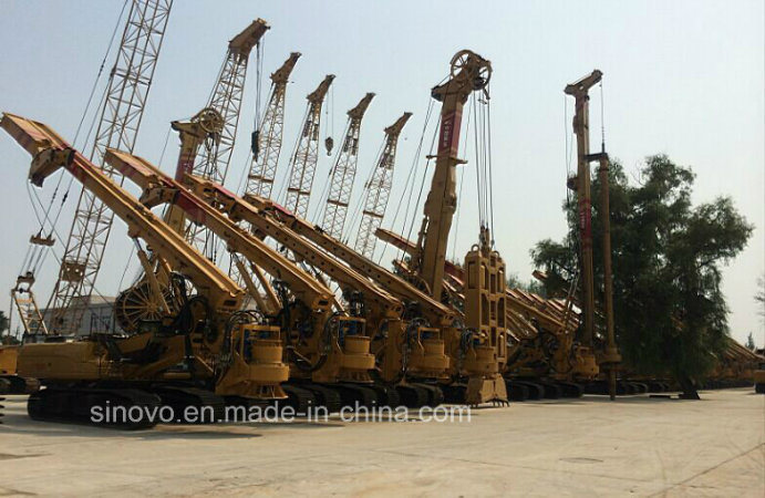TR280D Rotary Drilling Rig - Piles for 2500mm diameter 85m depth
