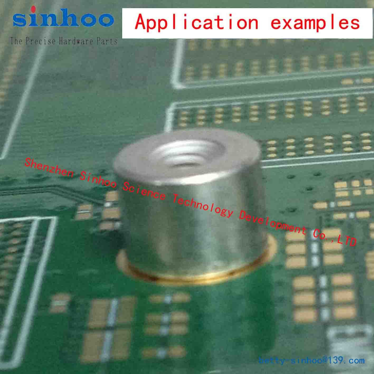Type SMTSO SMTSO-M2-6ET Metric Pem ReelFast Surface Mount Nuts and Spacers//Standoffs