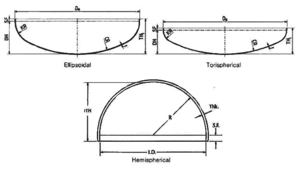 01-11-Large Carbon Steel Ellipsoidal head ASME pressure