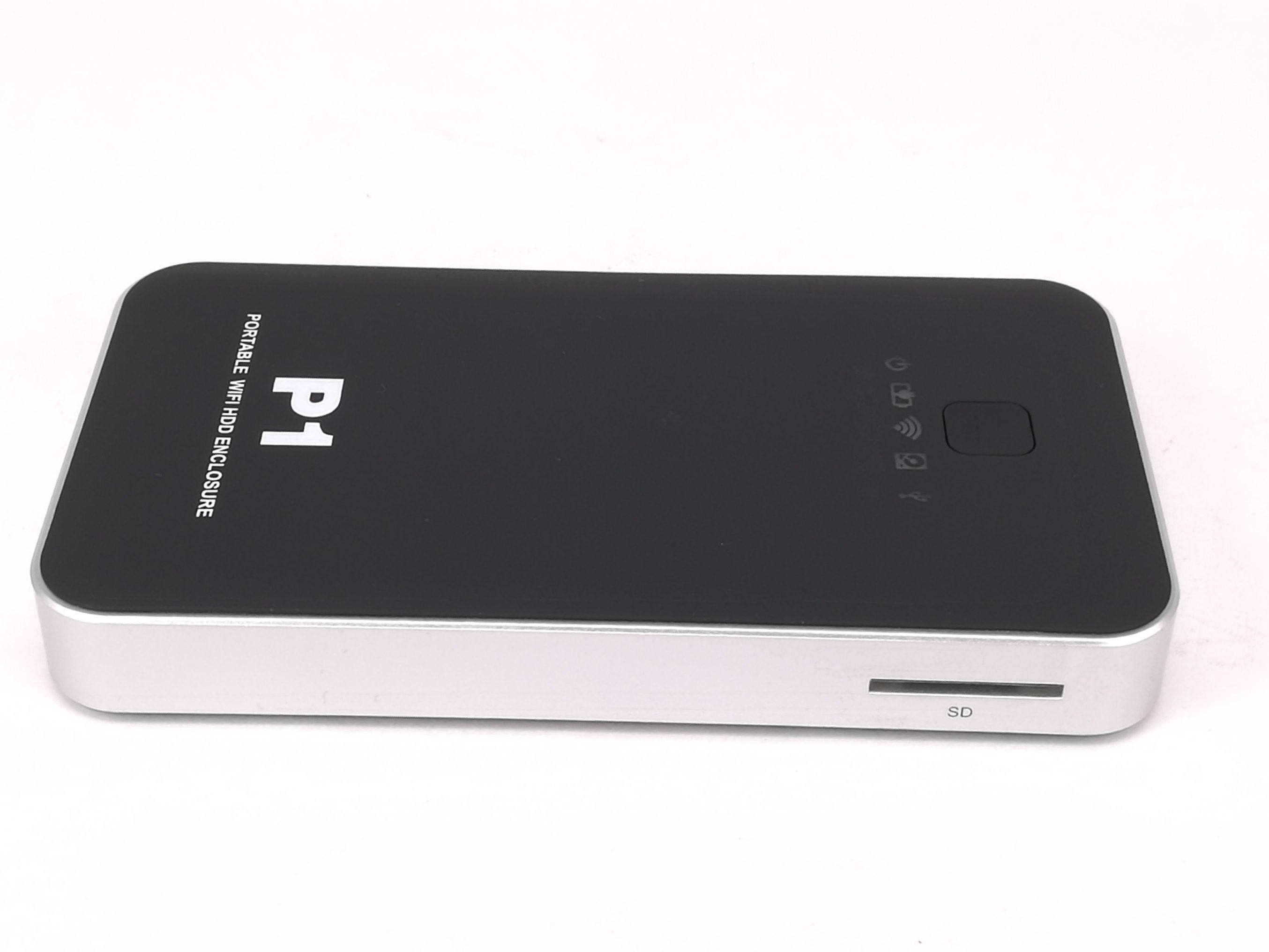 WiFi Hard Drive Enclosures, Support Ios Android Windows, Portable Streaming  Server, External Hard Drive, SD Card Reader,