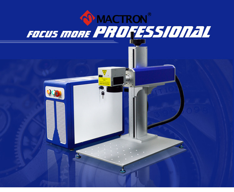 Low Price 20W 30W 50W Portable Mini Fiber Laser Marking Machine for Metal