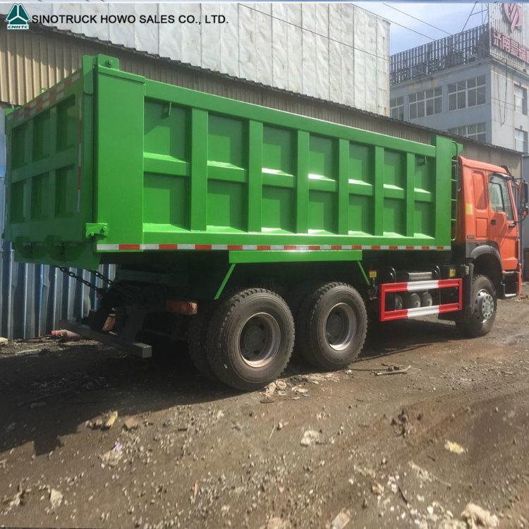 China Sinotruk HOWO 20m3 de 10 Wheeler Dump volquete