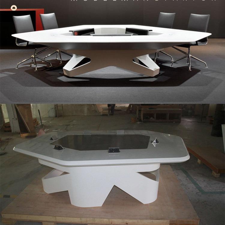 Usa corian blanc de conception de meubles de luxe bureau for Bureau western union