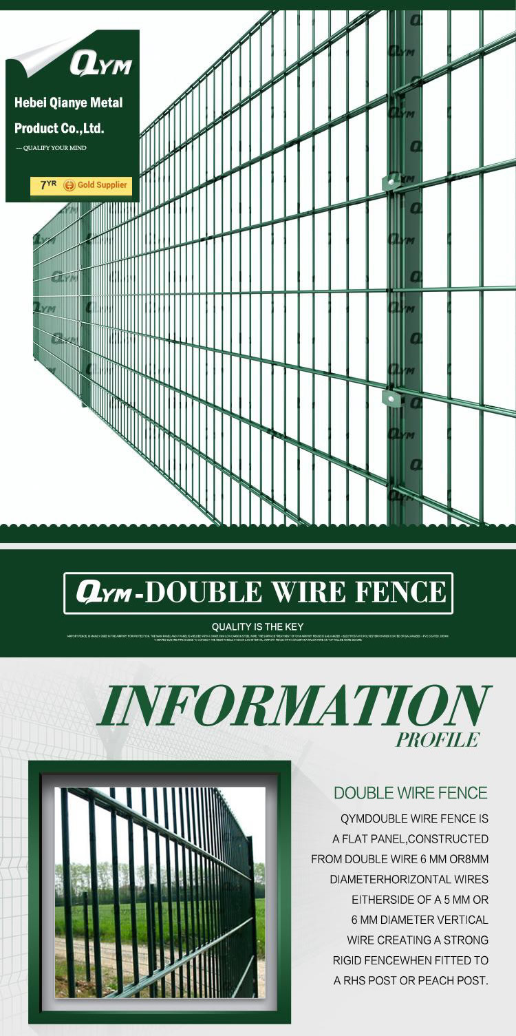 Smart Expo - Double Wire Security Fence / Galvanized Welded Double ...