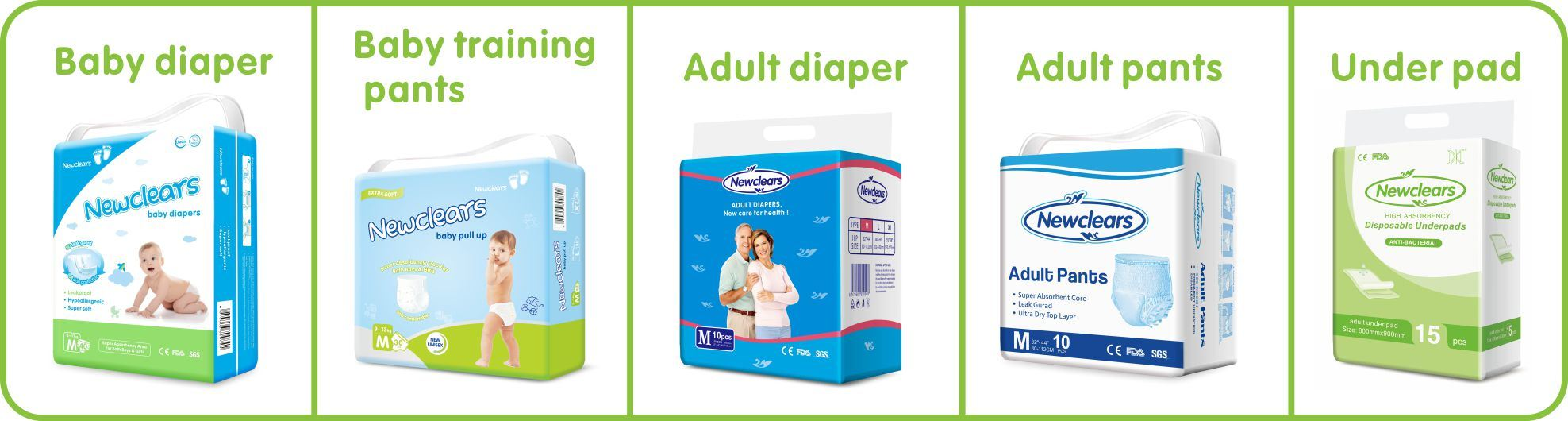 [Hot Item] Free Sample Dry Surface Abdl Baby Boy Girls Nappy Diaper