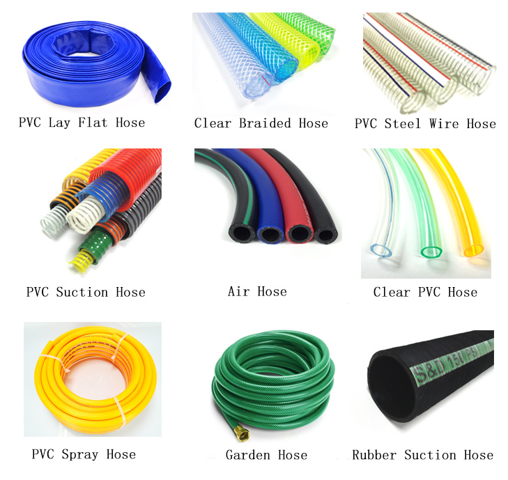 Anti-UV Flex Propane / PVC Layflat Soaker Water Pipe Hose Suppliers with ISO SGS Certifiactions