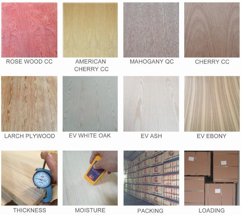 Placa do bloco de madeira qualidade comercial
