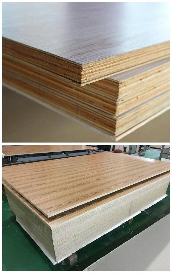Paper Faced Plywood ~ Mm papel de melamina enfrentou o contraplacado para