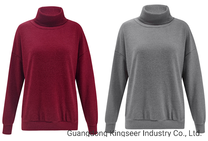 2020 Autumn Winter Fashion Knitting Apparel Ladies Tops Woollen Women Blouse China Blouse And Clothing Price Made In China Com