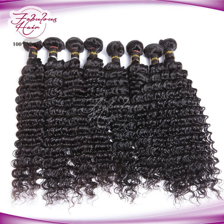El cabello natural humana trama peruana virgen sin procesar Hair ...