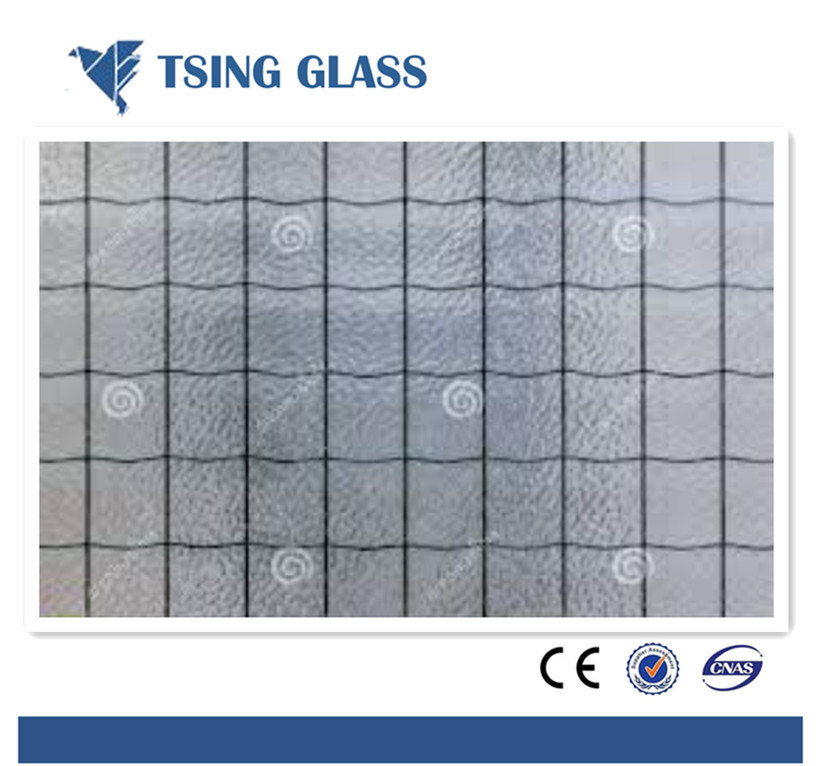 Toughened Laminated Metal Wire Mesh Safety Glass - China Building ...