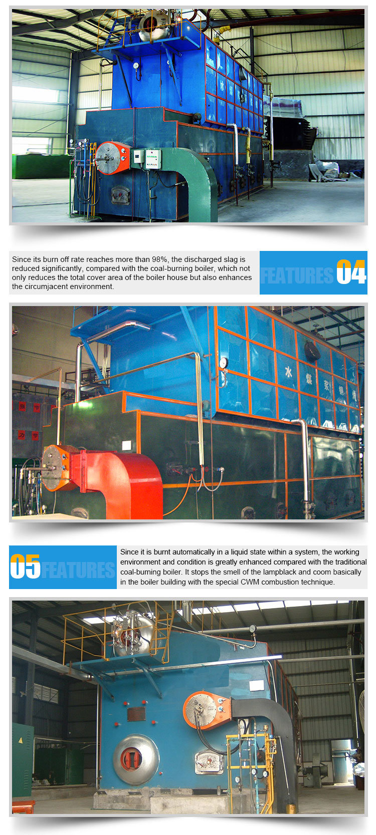 Factory Directly Price Industrial Coal Fuel Steam Boiler - China ...