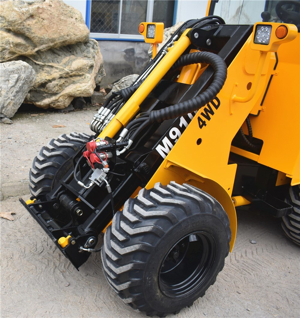 M915 Skid Steer Grapple Bucket Front End Loader for 4WD EPA Farm Tractor