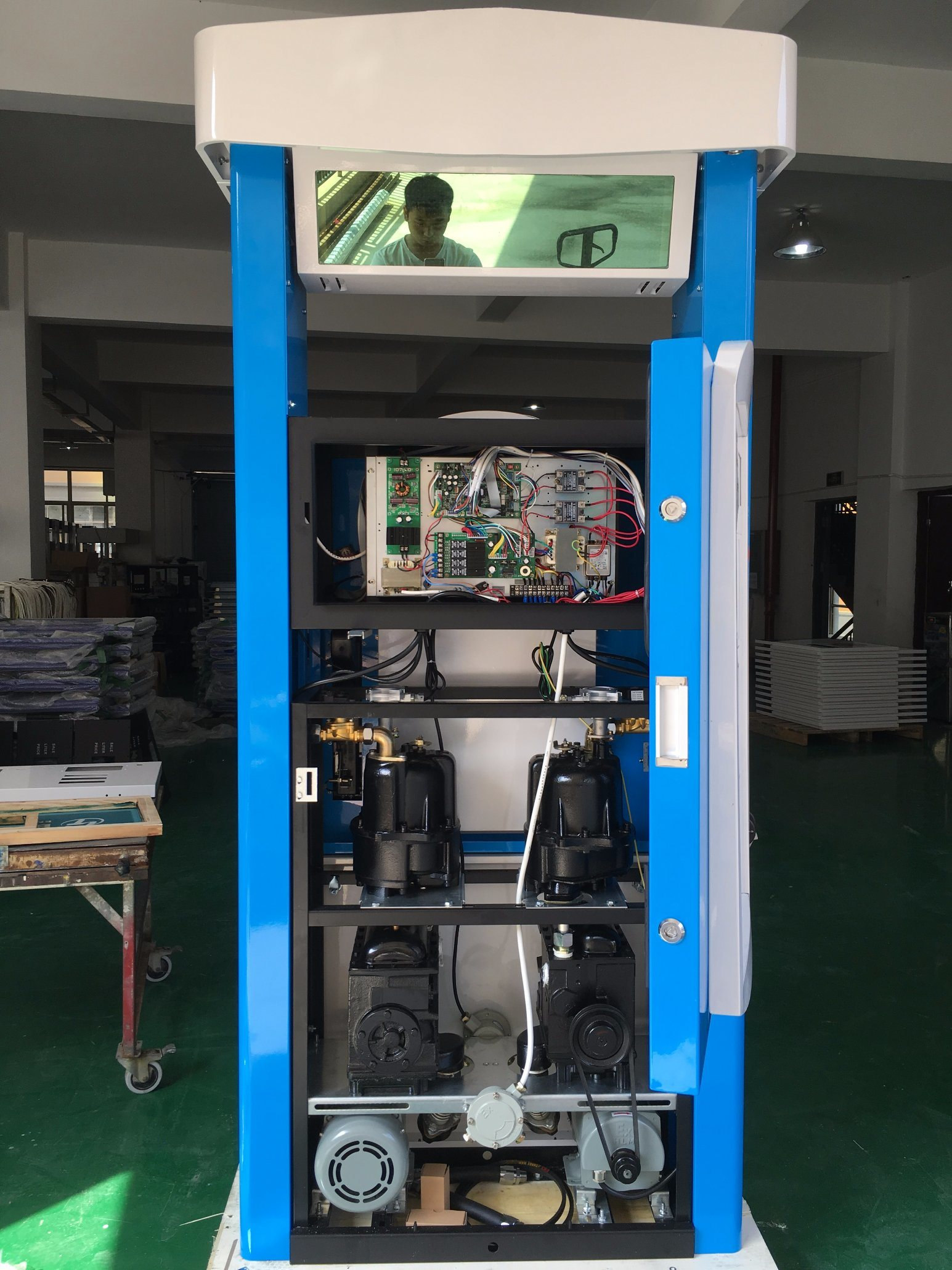 Gilbarco Type Fuel Dispenser 2 Product2 Nozzle4 Displays For Gas Pump Wiring Diagram Detailed Images