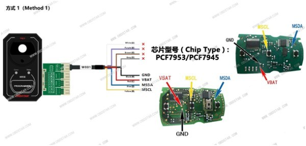[Hot Item] Obdstar P001 Programmer RFID & Renew Key & Eeprom Functions 3 in  1 Get Free Toyota Simulated Smart Key