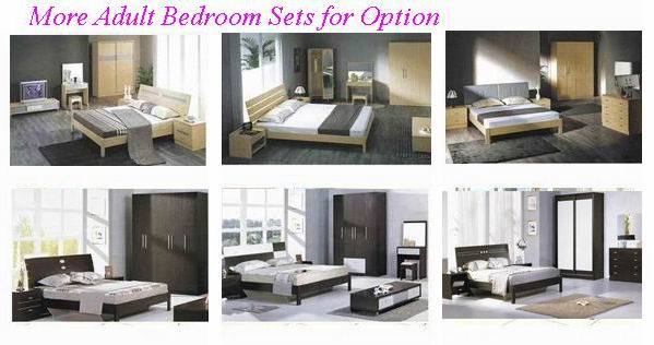 쉬운 조립된 침실 세트 가구 나무로 되는 침대 (SH-003#) – 쉬운 ...