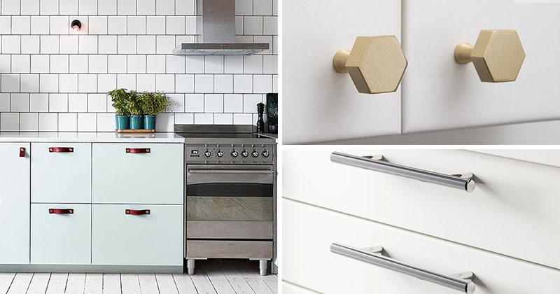 T Bar Drawer Pulls Knobs, Modern Hardware For Kitchen Cabinets