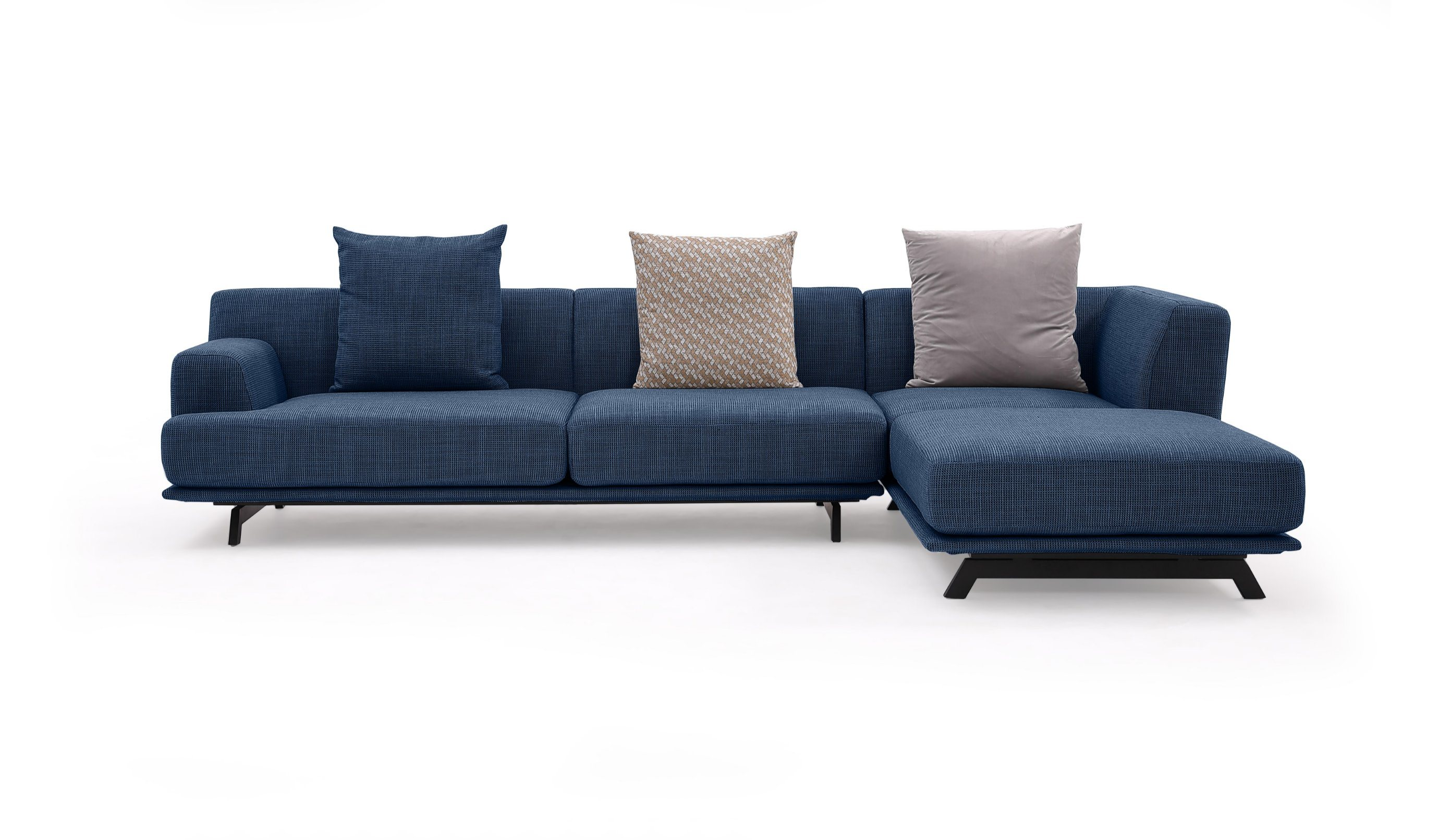 Foshan Modern Italian Luxury Hot Sale Blue Fabric Sofa Homesectional Couch Sleeper Sofa Couches For Sale Chair Bed Sofa Living Room Furniture Sets China Home Sofas Couch Home Furniture Couch