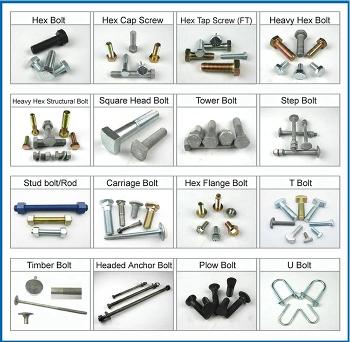 Stainless Steel 304 316 Hex Flange Bolt M5X20 Grade 10.9 Black Coating