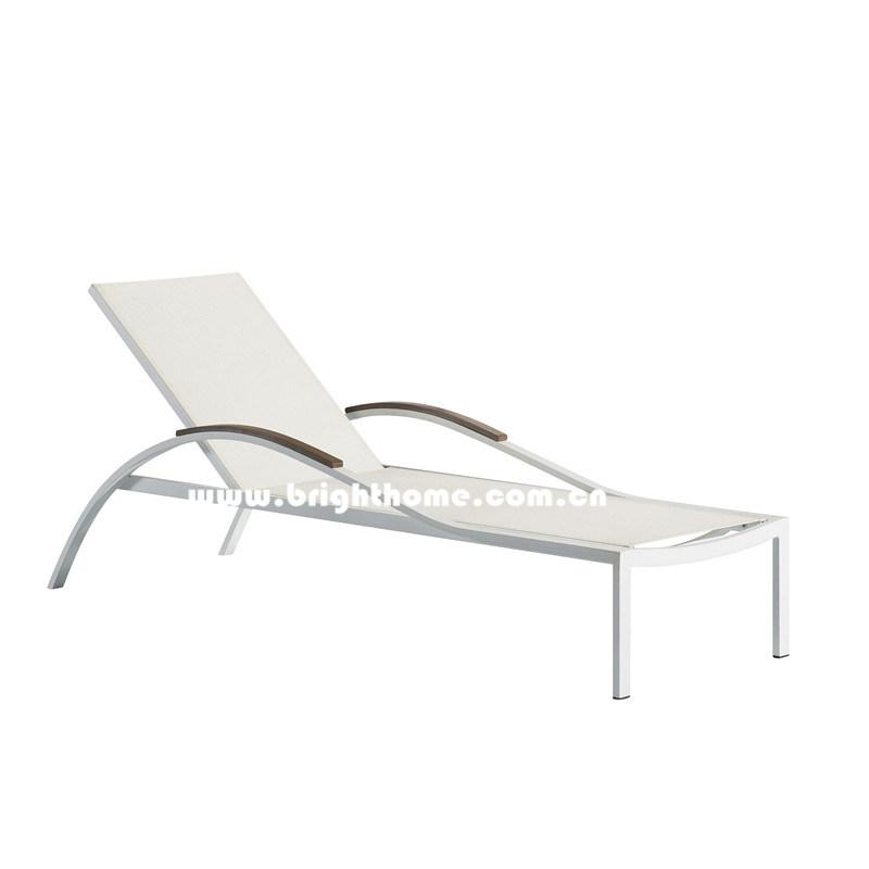 Mobilia di alluminio del daybed del raggruppamento del for Mobilia outdoor furniture