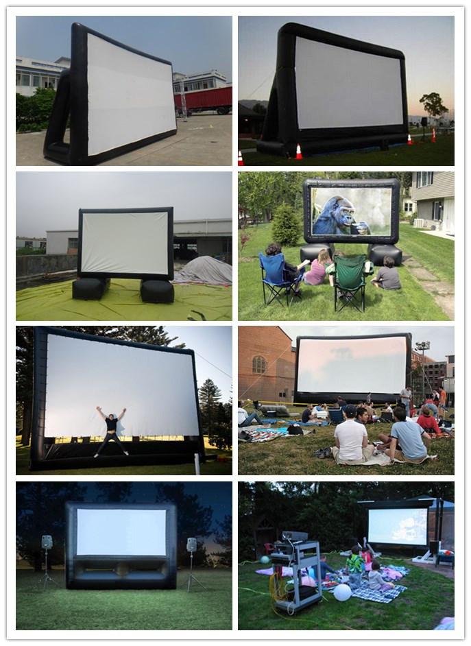 gonflables pour l 39 ext rieur de l 39 cran de projection de film gonflables pour l 39 ext rieur de l. Black Bedroom Furniture Sets. Home Design Ideas