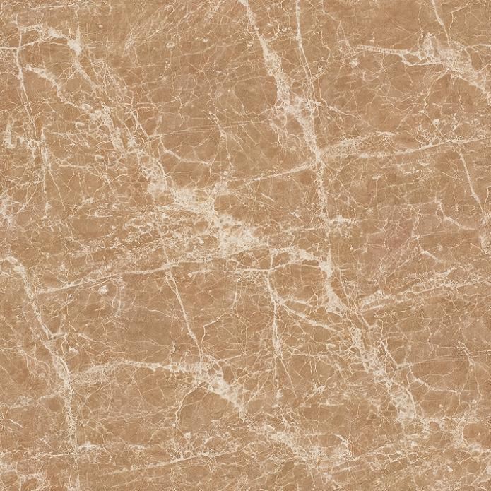 600X600mm Light Emperador Glazed Polish Porcelain Tile