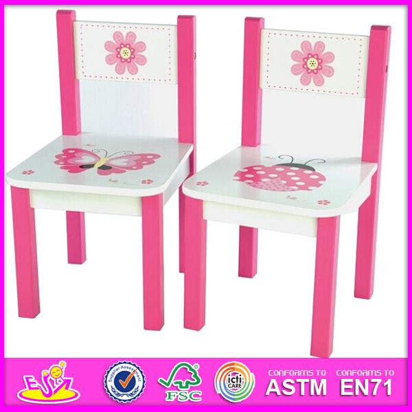 Lindo colorido diseño de muebles de madera mesa y silla para niños ...