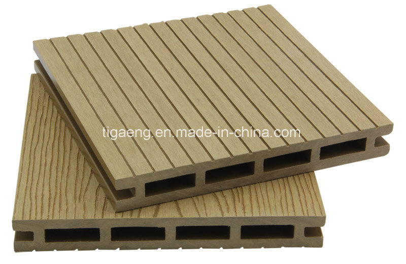 O melhor decking composto pl stico da madeira cont nua da for Timber decking for sale