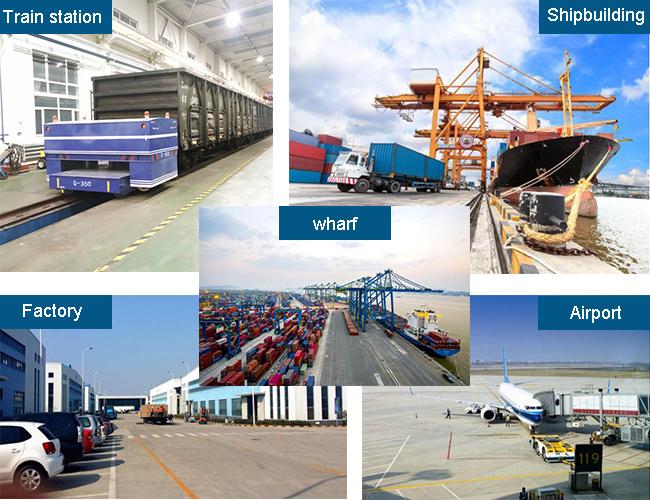 [Hot Item] 10 Ton Heavy Industry Flat Trailer Rail Transport Vehicle