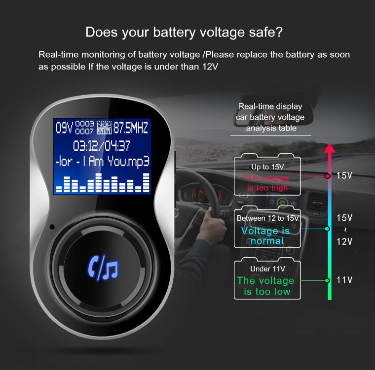 Universal Wireless Bluetooth Car FM Transmitter