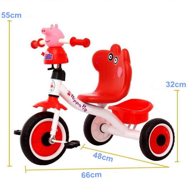 3 Cartoon 5 Coche Bike 2 Niños Bicicleta Música Juguete 1 Años Triciclo Baby Para De sQrCxdth