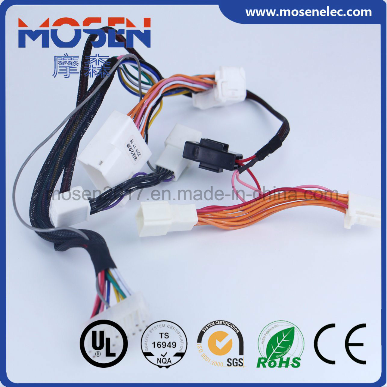 Toyota Sun Roof Auto Wiring Harness Avss Wire Yazaki Connector For Buy Automotive Mazda 3 5 Ignition System 14awg Manufacture