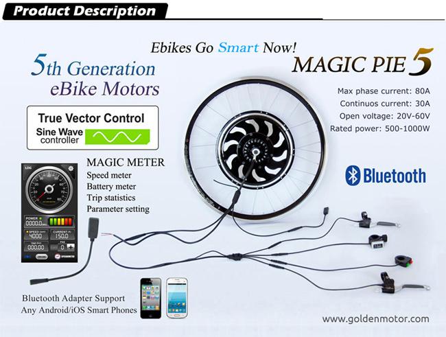 Magic Pie 5 Electric Bike Motor 250W-1000W