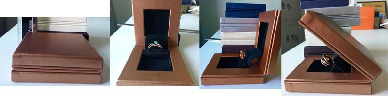 Hot Item Gift Paper Wood Jewelry Box Jewelry Storage Box Packaging Box Jewellery Box Packing Box Leather Box Paper Gift Glass Set Box Yl01