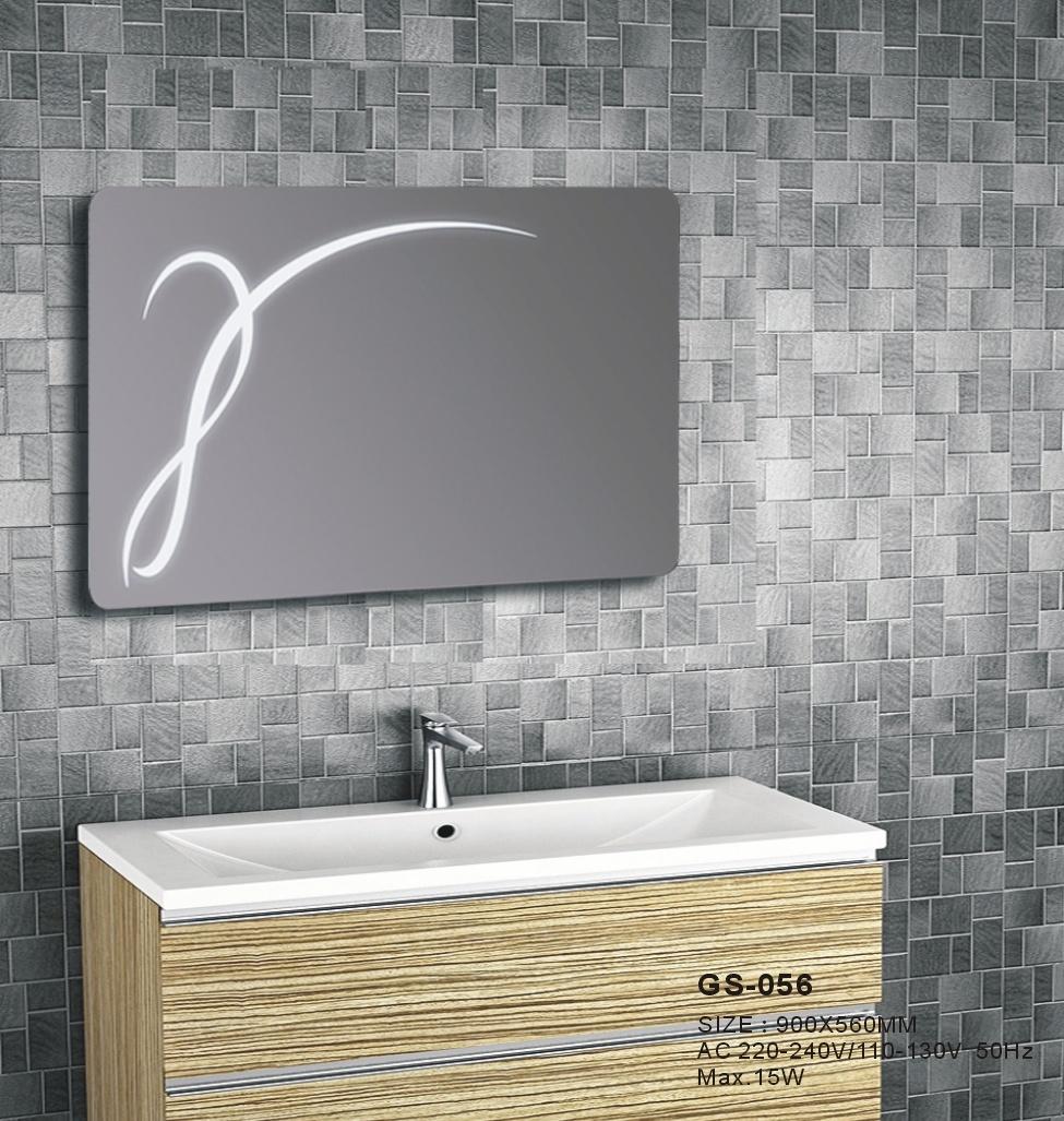 Newest Silver Home Wall Decor Hotel Led Bathroom Furniture Mirror China Led Mirror Led Bathroom Mirror Made In China Com