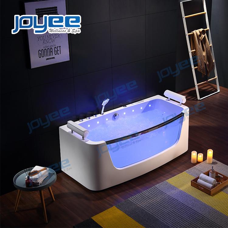 Joyee Luxury Jacuzzi Bathtub With Colorful Led Light Indoor Hot Tub For Sale China Whirlpool Bathtub Indoor Jacuzzi Made In China Com
