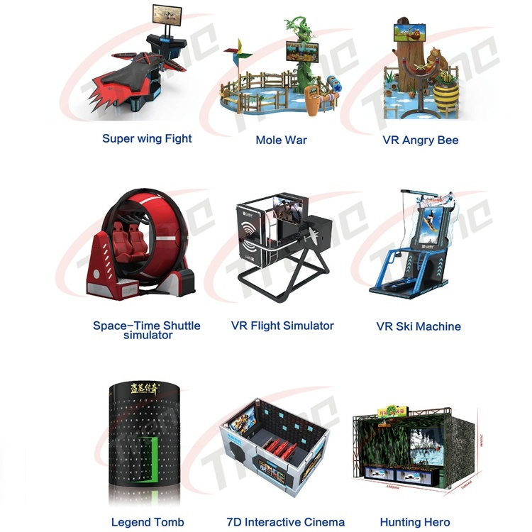 Interactive Arcade Game Machine Vr E-Space Walk 9d Virtual Reality Cinema