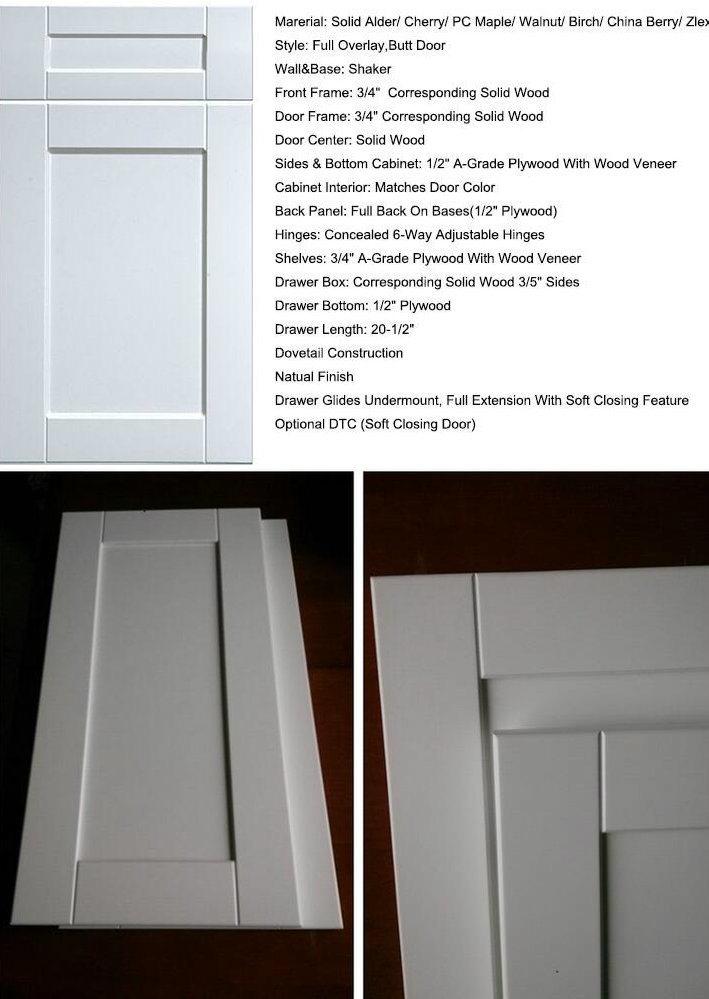 Agitador blanco estándar de alta calidad de madera maciza puerta de ...