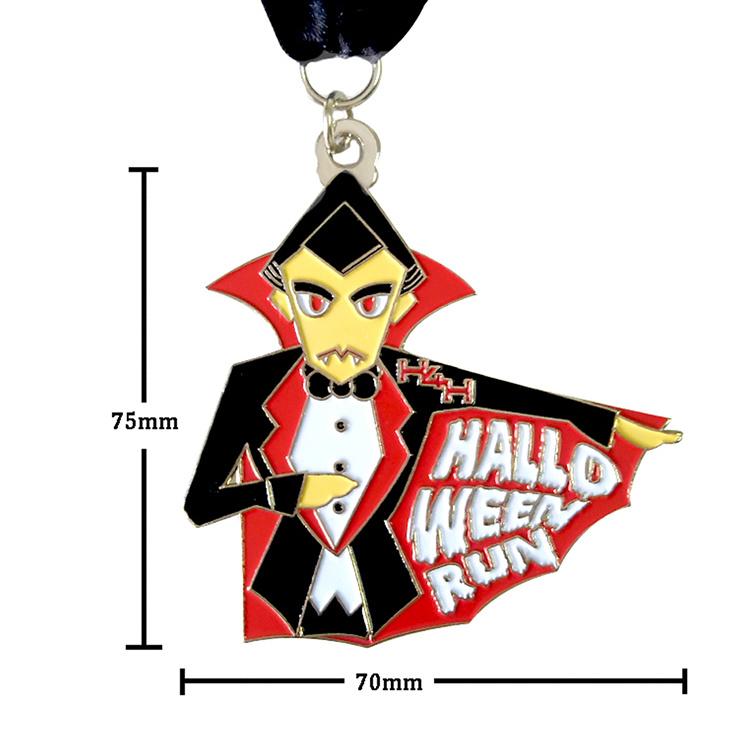 New Design Waterproof Halloween medal die casting machine