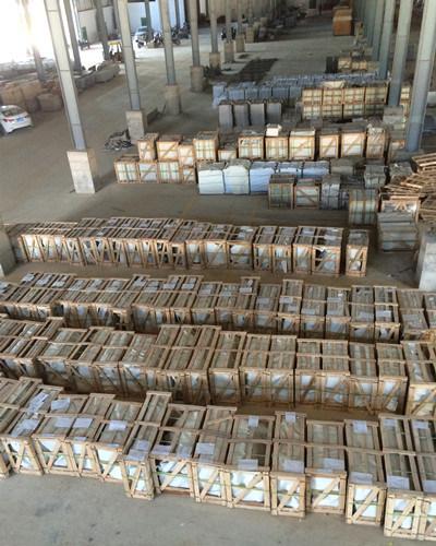 High Polishing White Wooden Vein Marble for Floor Tiles